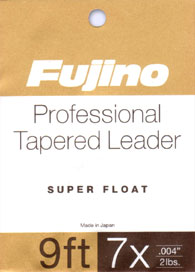 PROFESSIONAL SUPER FLOAT TAPERED LEADER